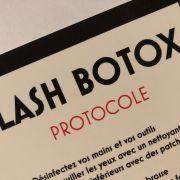 PROTOCOLE LASH BOTOX
