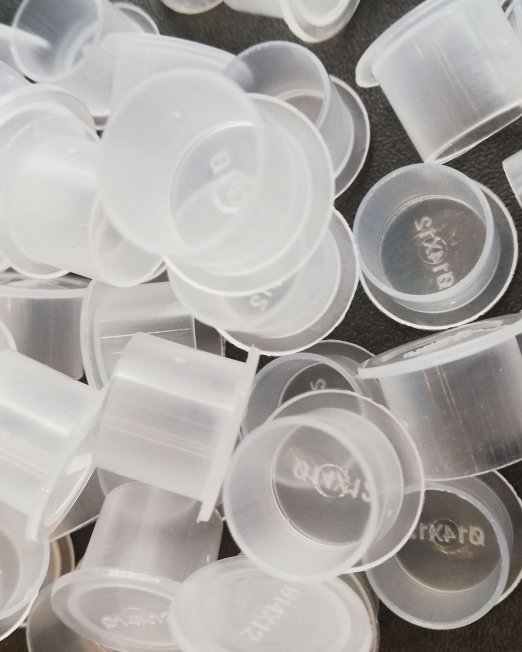 Lot de 50 cupules à pigment